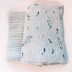 Pehr Organic Cotton Swaddle Blankets
